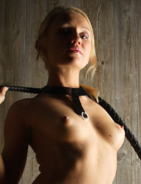 Model karine in kitten whip