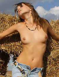 Model maya in after the harvest